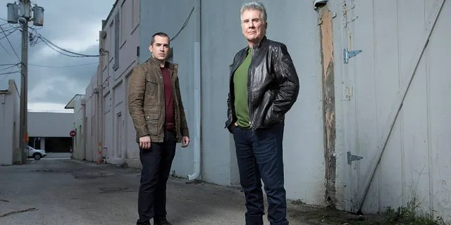 John (R) and Callahan Walsh (L) are dedicating some of their show 'In Pursuit with John Walsh' to the homicide of Gabby Petito.