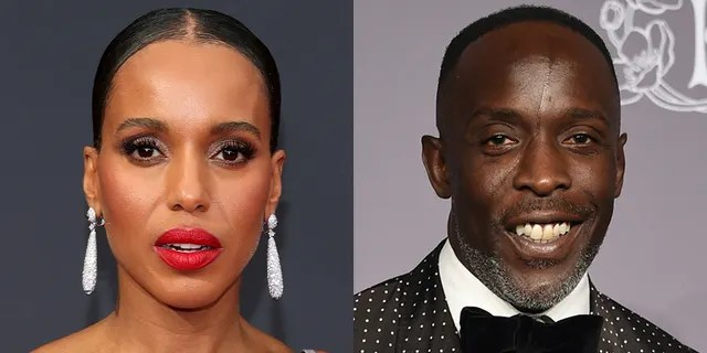 Actress Kerry Washington lamented the death of Michael K. Williams at the 2021 Emmys.