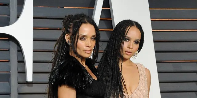 Actresses Lisa Bonet and Zoe Kravitz attend the Vanity Fair Oscar Party hosted by Graydon Carter at the Wallis Annenberg Center for the Performing Arts on February 22, 2015 in Beverly Hills, Calif.