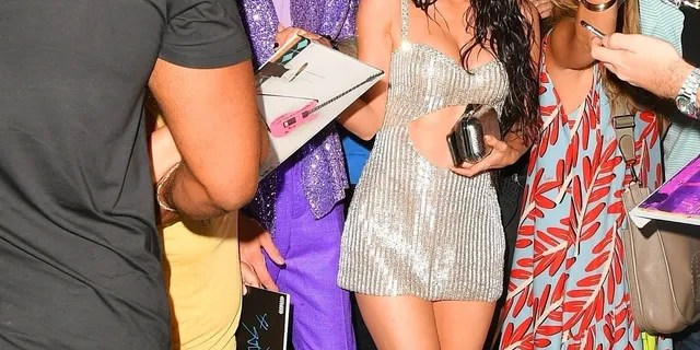 Machine Gun Kelly and Megan Fox had dinner with Kourtney Kardashian and Travis Barker after the 2021 VMAs.