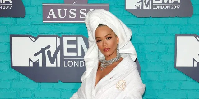 Rita Ora attends the MTV EMAs held at SSE Arena, Wembley on November 12, 2017 in London, England.