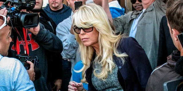 Dina Lohan pleaded guilty to drunken driving on Tuesday, Sept. 28, 2021, and is expected to be sentenced to 18 days in jail and five years' probation for rear-ending another car on Long Island and leaving the scene.