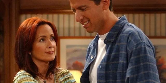 Patricia Heaton and Ray Romano as Deborah and Ray Barone on 'Everybody Loves Raymond.'