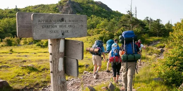 The Appalachian Trail runs for over 2,000 miles in all.