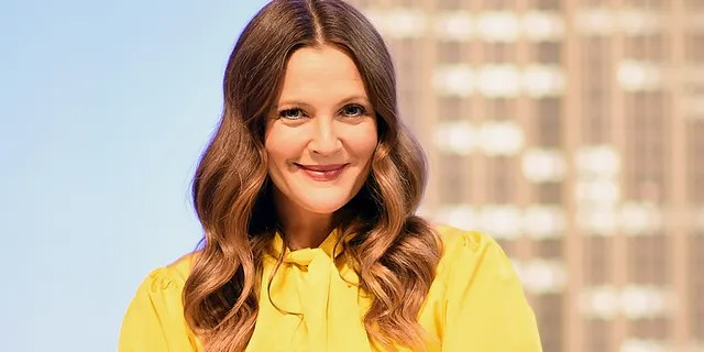 Drew Barrymore celebrates the launch of 'The Drew Barrymore Show' at The Empire State Building on September 14, 2020 in New York City.