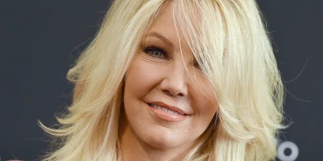 Heather Locklear is engaged to high school sweetheart Chris Heisser.