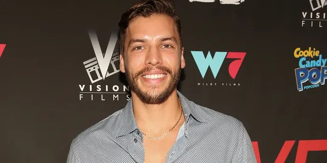"""Joseph Baena, at the premiere of """"I Love Us"""" in Los Angeles earlier this year, is the son of Arnold Schwarzeneggerand his former mistress and housekeeper, Mildred Baena."""
