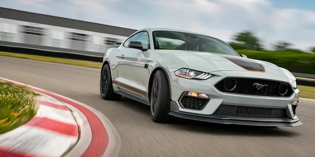 The 2021 Mustang Mach 1 is the most track-capable 5.0-liter model.