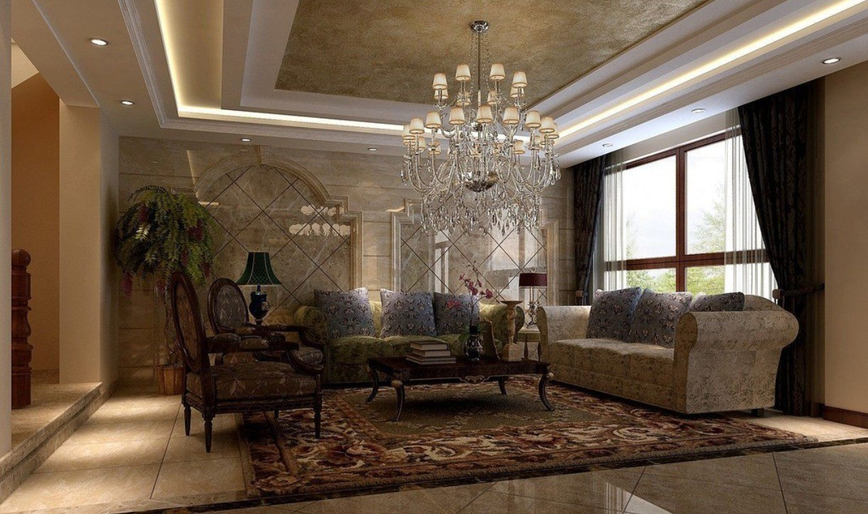 20 Luxury Living Rooms for the Super Rich