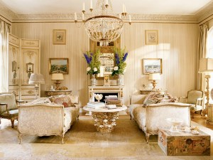living luxury rich rooms decorating via