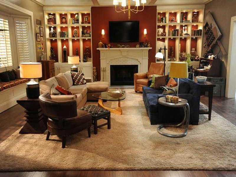 most comfortable living room chairs renting chair covers 20 beautiful rooms featuring comforting earth tones