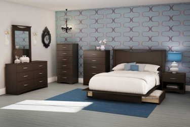 furniture bedroom brown sets dark bedrooms shore walls interior jaw paint modern master target south chairs table mirror collection step