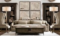 20 Amazing Living Rooms Inspired by Restoration Hardware