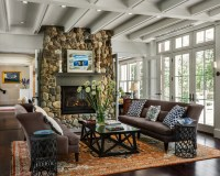 20 Amazing Stone Fireplace Designs