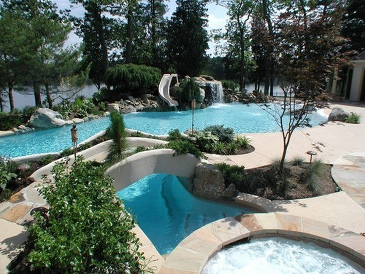 10 of the Most Incredible Backyard Waterpark Designs
