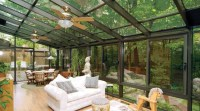 20 Beautiful Glass Enclosed Patio Ideas