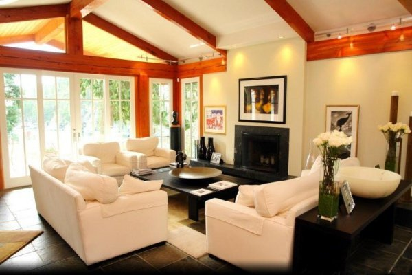 zillow design living room ideas 20 Lavish Living Room Designs With Vaulted Ceilings