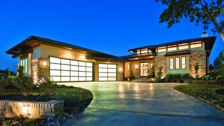 modern contemporary plans houses exterior courtyard story prairie homes styles designs plan architecture walkout basement types different roof lines craftsman