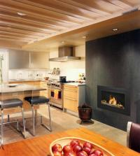 20 Kitchen Ideas With Fireplaces