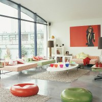 20 Modern Living Rooms With Retro Furniture