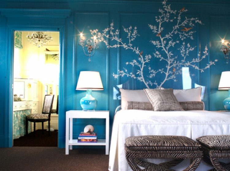 10 luxurious blue bedrooms