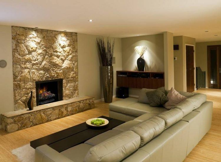 20 Awesome Basement Living Spaces