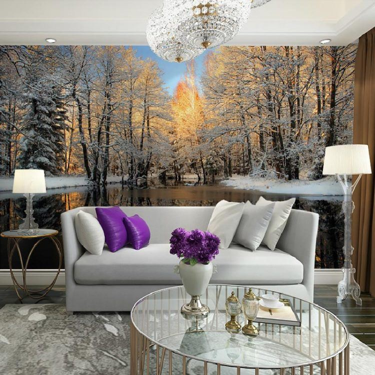 wall mural ideas for living room bright paint colors 20 rooms with beautiful designs
