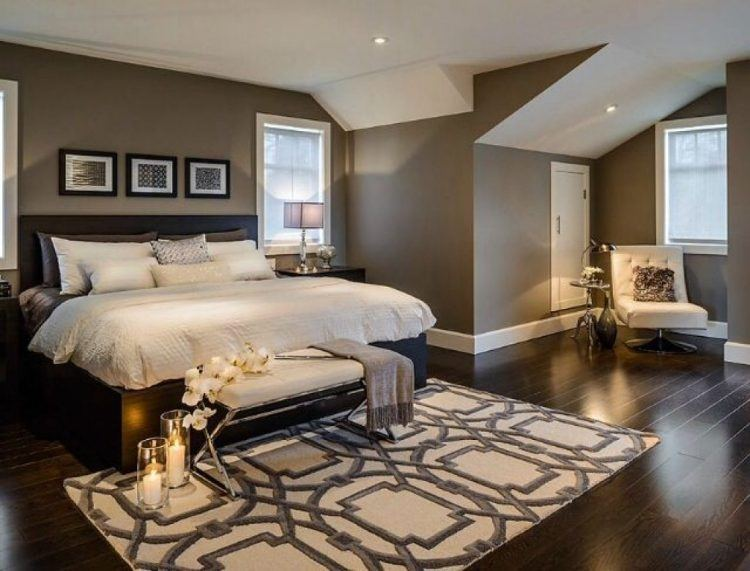 10 beautiful master bedrooms with accent chairs