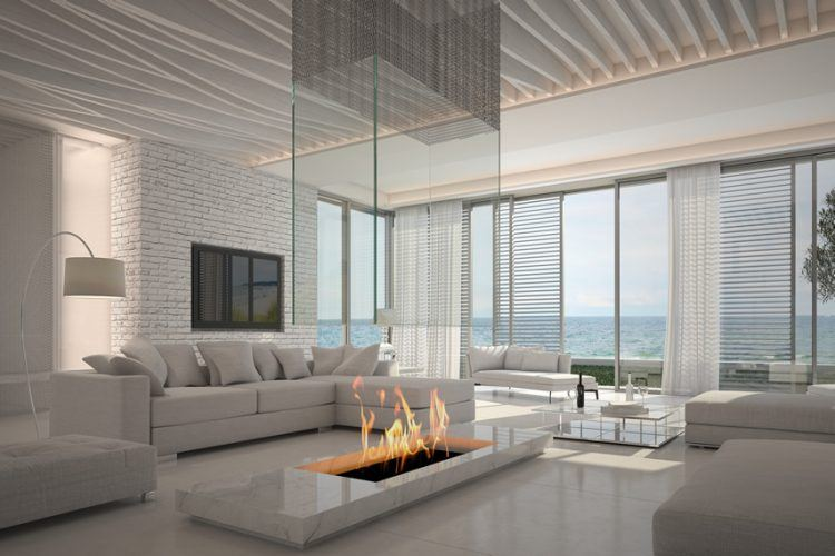 pictures of modern white living rooms painting 20 beautiful all room ideas with firepit