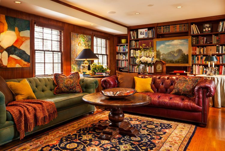 10 Home Library Designs To Draw Inspiration From