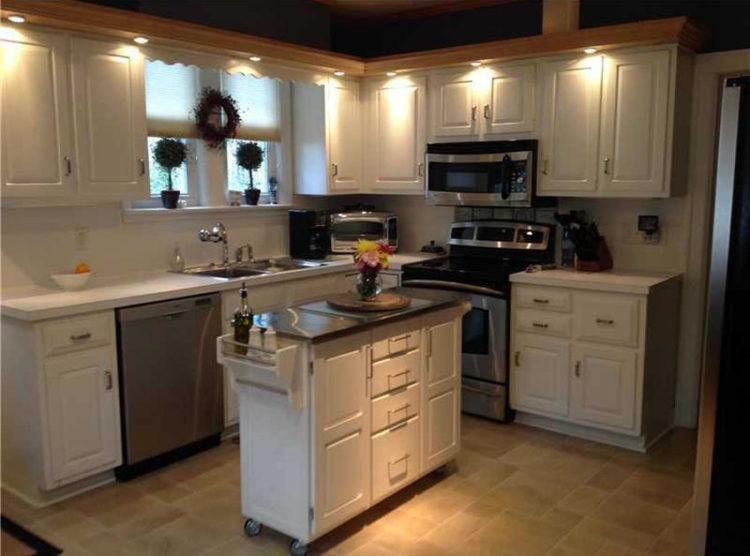 10 Amazing Rolling Kitchen Island Designs Housely