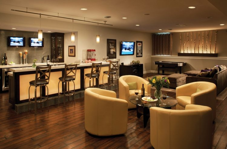 10 Beautifully Modern Home Bar Ideas Youll Love  Housely