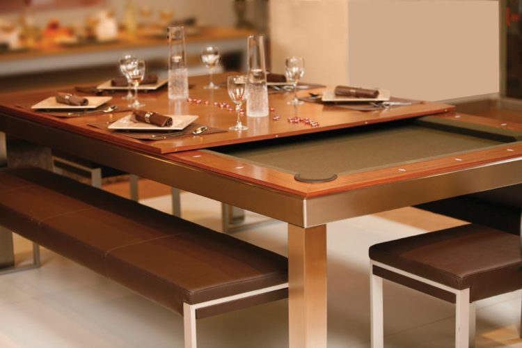 10 Cool Pool Table Dining Table Designs Housely
