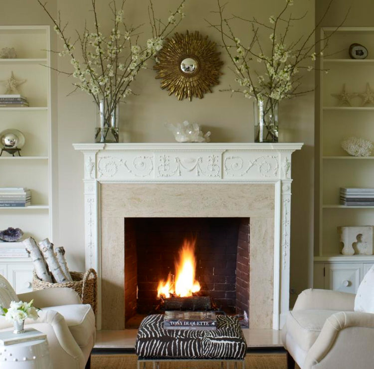 10 Stylish Mantel Decor Ideas For Your Fireplace  Housely