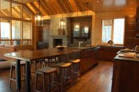 10 Beautiful Kitchen Island Table Designs - Housely