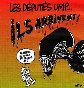 caricature alien ump