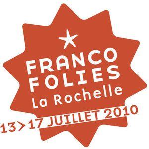 Flyer for Les Francofolies