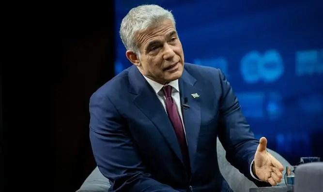 Yair Lapid: No es urgente para mí hablar con Abu Mazen - Canal 7