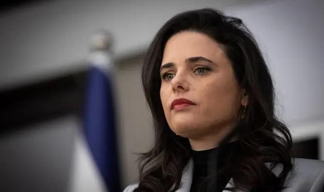 Shaked se opone a la ley para bloquear Netanyahu-Channel 7