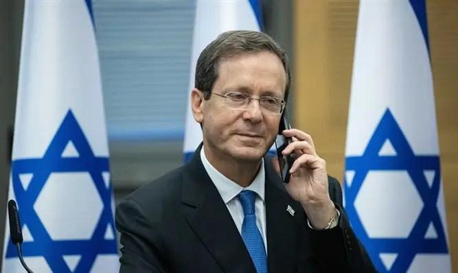 El presidente Yitzhak Herzog habló con el rey Abdullah de Jordania - Canal 7