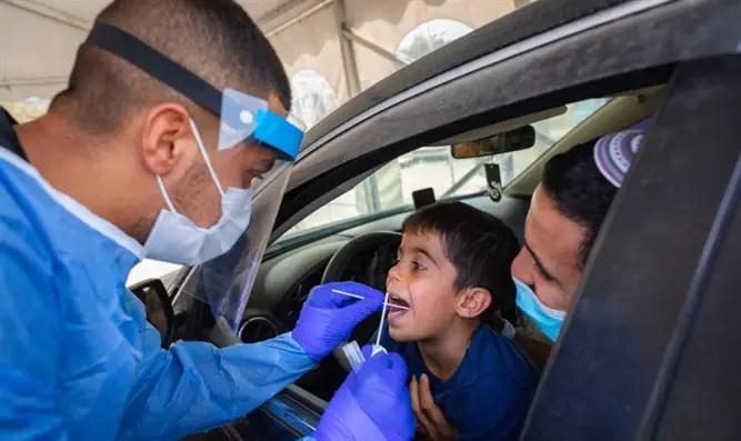 """""""Estamos en los niveles más altos de infección que hemos visto en Israel"""" - Canal 7"""