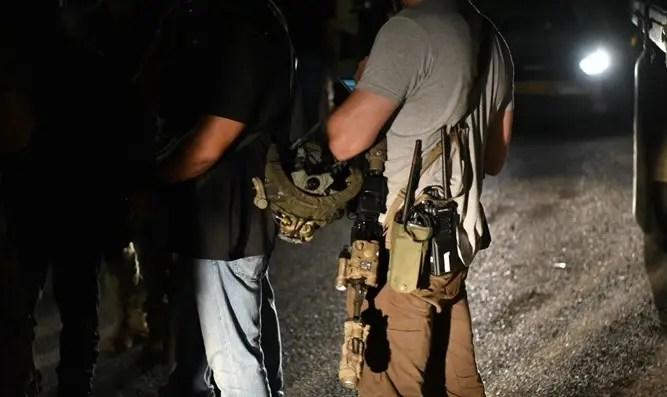 Archivo, el arresto de los terroristas la semana pasada.