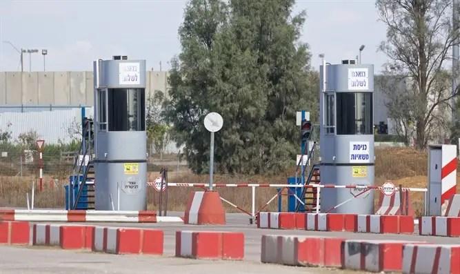 Israel abrió el cruce, Egipto cerró el Canal 7