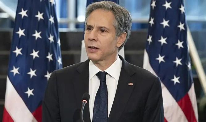 """Secretario de Estado de EE. UU. Para Gabi Ashkenazi: """"EE. UU. Cree en una solución de dos Estados"""" - Canal 7"""