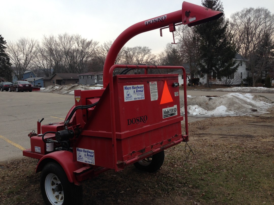"Towable Chipper/Shreader 6"" Image"