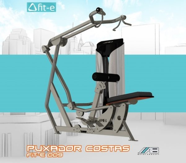 Puxador costas fit-e 009