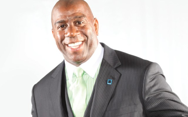 Magic Johnson Joins Ice Cube's Bidding Group to Acquire Sports Networks From Disney