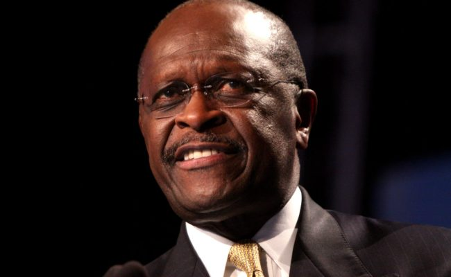 Tapped To Sit On Fed Board Herman Cain Straddles Fence