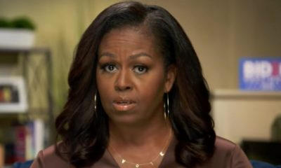 Michelle Obama calls for President Trump's ban on all social media.