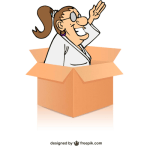 Box vector designed by Freepik